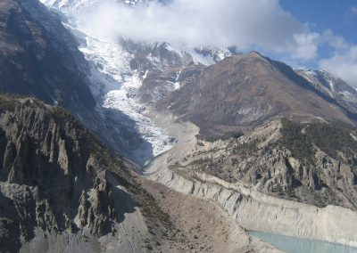 1.	Gangapurna Himal, Glacier, Lake and Marshyangdi River
